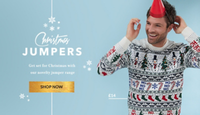 Shop our fun range of Christmas jumpers at George.com
