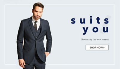 Browse suits and tailoring for all occasions at George.com