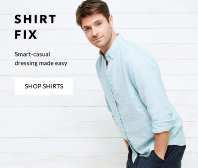 Browse men's shirts