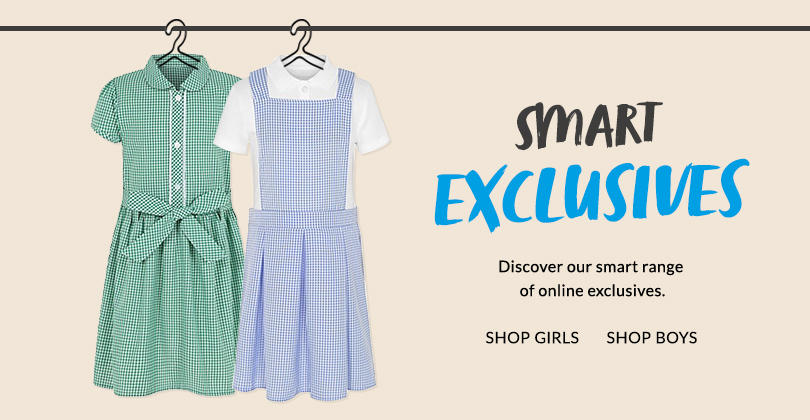 Kit them out for school with our online exclusive range