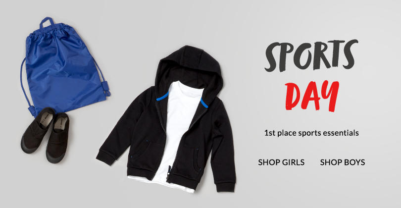 Kit them out for school with the latest sportswear and swimwear for boys