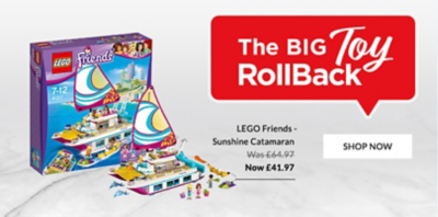 With a sale this BIG you can't help but treat them to some brand-new toys