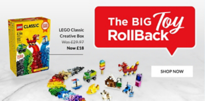 Discover our huge toy sale now on