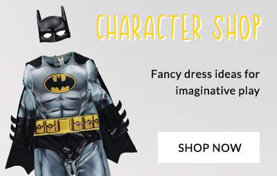 Browse our range of character clothing and toys