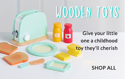 Let your little one explore the wonderful world of wooden toys at George.com