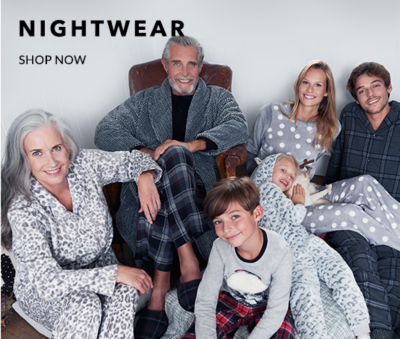 Shop our dreamy range of nightwear, onesies and slippers for women at George.com