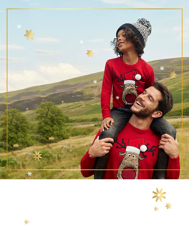 Kit the family out with fun novelty jumpers this Christmas