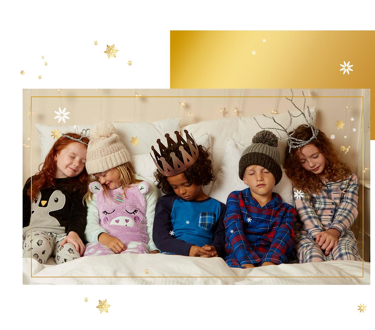 Get little ones set for Christmas morning with snug PJ's