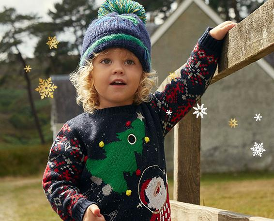 Light up Christmas with fun novelty jumpers