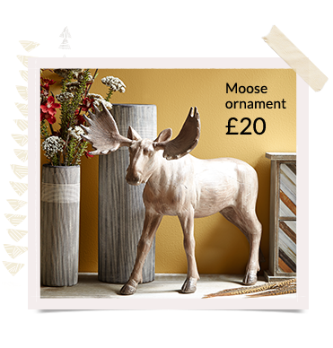 Shop animal inspired accessories from ornaments to photo frames to clocks, at George.com