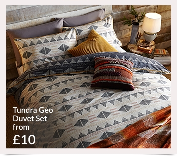 Discover a range of printed, plain and on-trend bedding at George at Asda