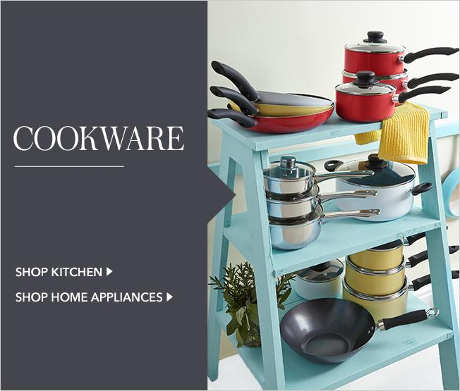 Discover our fantastic range of kitchen essentials, from saucepans to basic crockery – perfect for jetting off to uni with everything you need