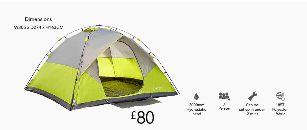 Browse camping tents and more useful things at George.com