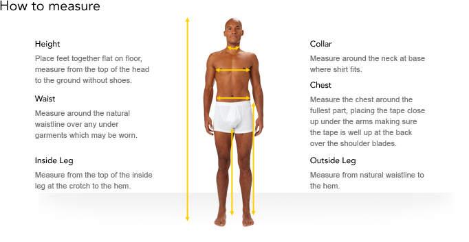 Customer Aiding Information Mens Footwear Size Chart