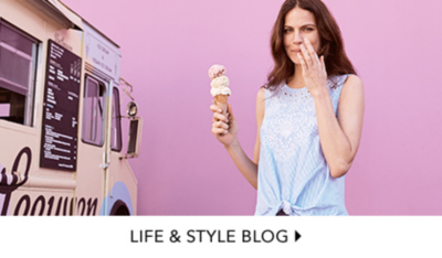 Need some inspiration? After some style tips? Our Life & Style blog can help.