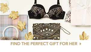From candles and knitwear to lingerie, discover the perfect present for her this Christmas