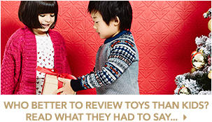 The Christmas top ten toys reviewed by the kids