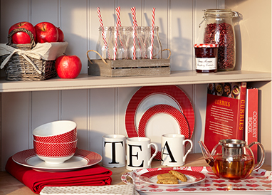 Shop kitchen essentials and kitsch, gingham prints from our Artisan collection at George.com
