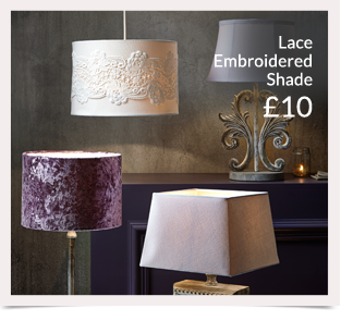 Choose from a range of lighting from table lamps to ceiling lights at George.com