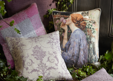 Shop a range of gorgeous faded charm and girly cushions  at George.com