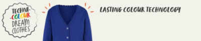 Keep their school sweatshirts and knitwear bright after every wash with our lasting colour technology at George.com