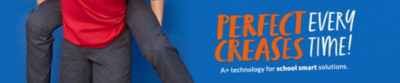 Discover our school smart permanent crease trousers at George.com
