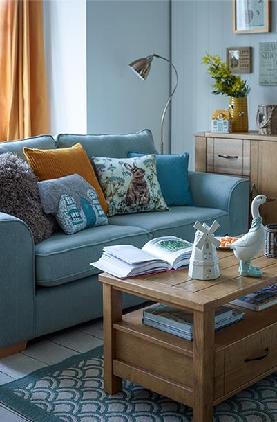 Give your living room a cosy farmhouse feel with Ambleside, only at George.com