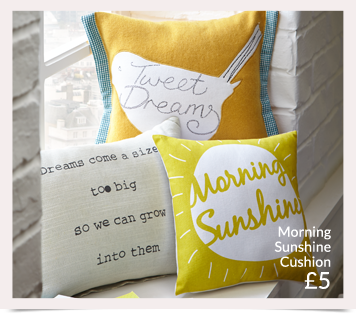 Pick from a range of graphic print cushions at George.com