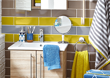 Update your bathroom with a range of bathroom accessories at George.com