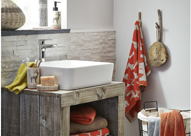 Boost your bathroom this season with the gorgeous Tundra range, only from George Home at George.com