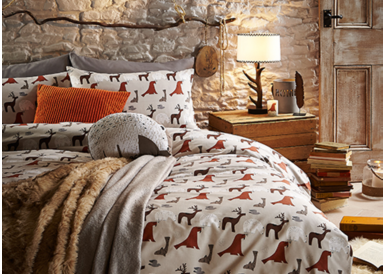Discover beautiful bedding inspired by the Canadian plains, only at George.com