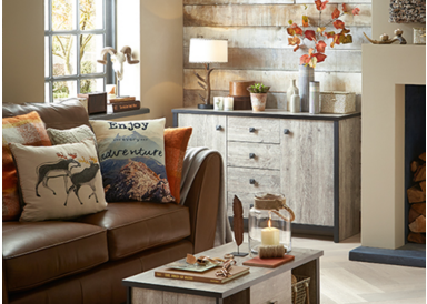 Shop the Tundra a/w 2015 home trend with a range of country inspired accessories from George.com