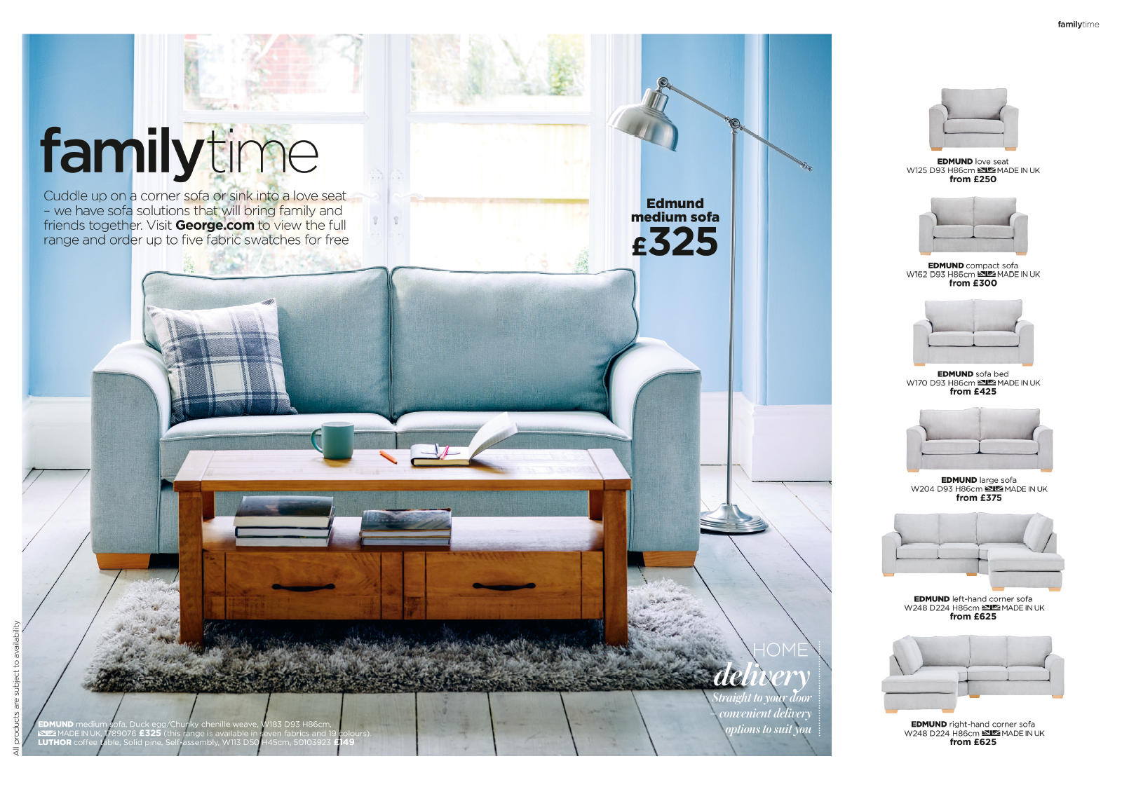 Welcome To The New Furniture Catalogue On George Your Level Of Comfort