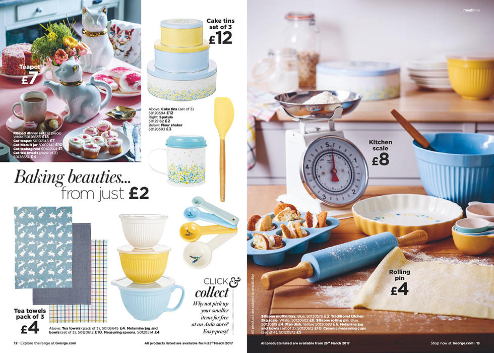 Discover our range of beautiful bakeware, from kitchen scales to wooden spoons.