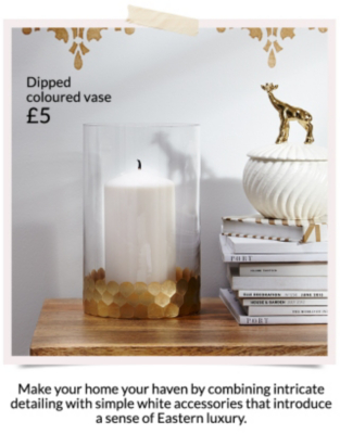 Shop a range of candles and modern vases at George.com