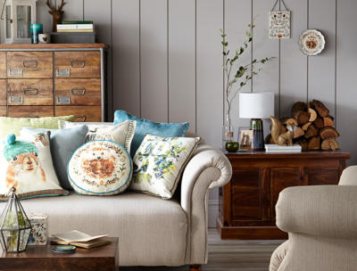 Get cosy and bring a touch of nature to your home with the hibernate collection from George Home