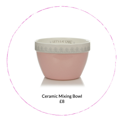 Shop a range of baking accessories including mixing bowls at George.com