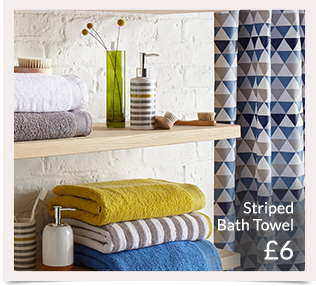 Choose from a range of bath towels and hand towels at George.com