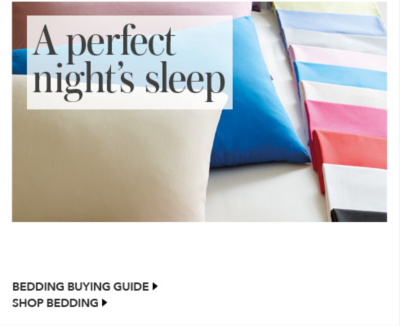 bedding buying guide
