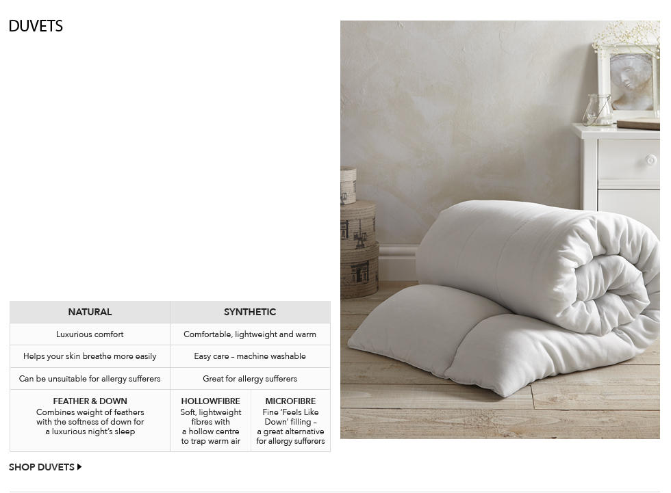 Which Tog Rating Is Right For Me Duvets Come With A To Help You Find The One That Will Make Most Comfortable Higher