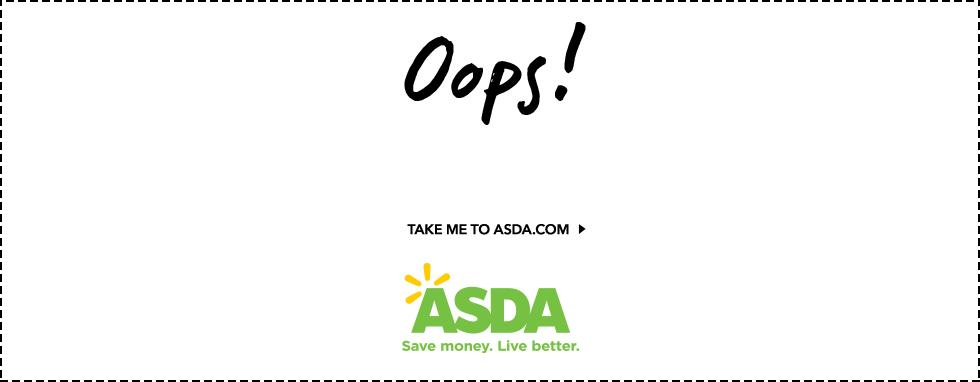 continue shopping at ASDA.com