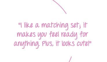 Work a matching gym set