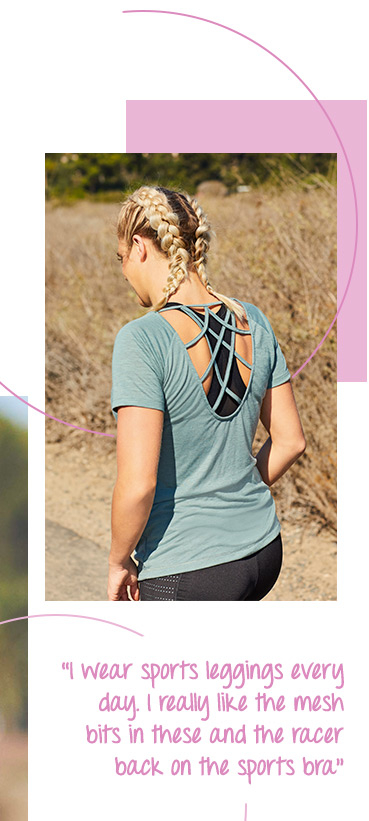 Work up a sweat in style with our breathable gym tops