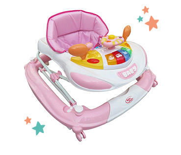 Bebe Style F1 Car Walker - Pink