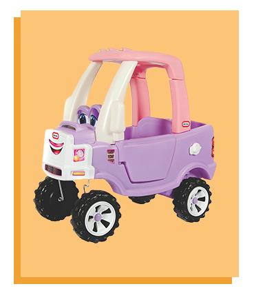 Little Tikes Cozy Coupe Truck Princess