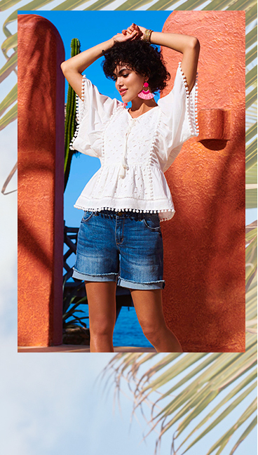 Fun detailing makes stylish summer dressing