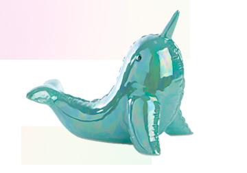 Shop blue narwhal ornament