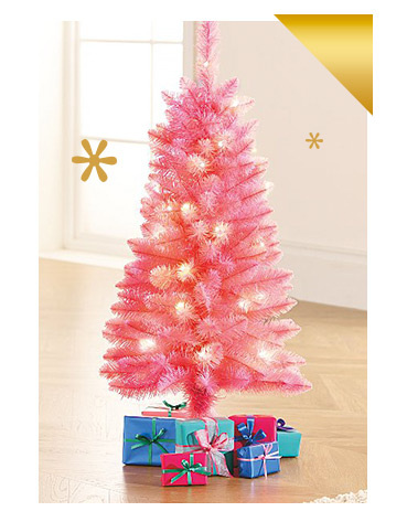 Shop pink Christmas tree