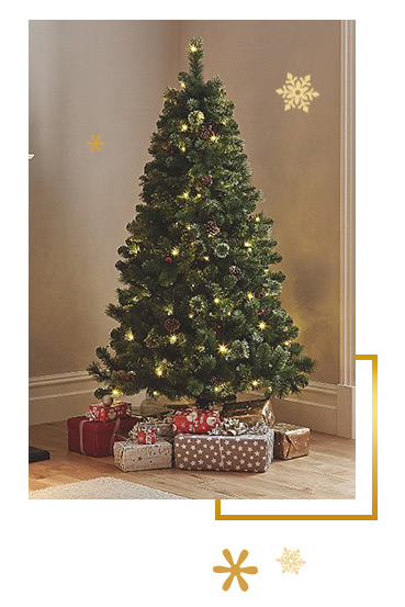 Make Christmas magical with our spectacular range of trees