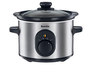 With a wrap-around heating element, this Breville slow cooker will cook your food to perfection